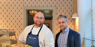 Bilde av kokk og daglig leder