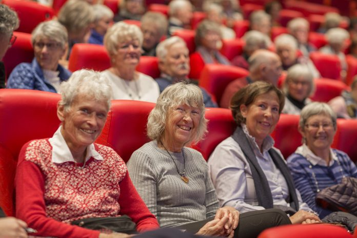 Bilde fra Liv Ullmann-salen